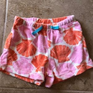 Mini Boden Toweling Shorts